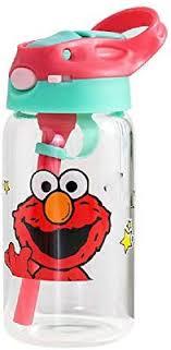 <b>Korean</b> Cartoon Sesame Street Straw <b>Glass Large Capacity</b> Sealed ...