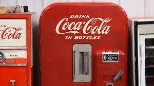 Top 10 Vending Machines Extraordinary CocaCola Round Top 48 Cents Bottle Vending Machine 48x48x48 B48