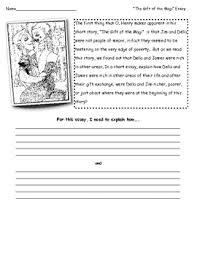 o henry s the gift of the magi essay question w graphic  o henry s the gift of the magi essay question w graphic organizer
