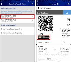 airline boarding passes in wallet