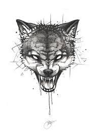 эскизы тату волк 79 онлайн журнал о тату