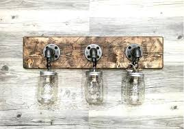 rustic bathroom lighting fixtures. Rustic Bathroom Light Fixtures Vintage And Lighting Ideas Steam Shower .