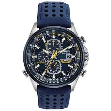 citizen watches overstock com the best prices on designer mens citizen men s at8020 03l eco drive blue angels world chrono a t watch