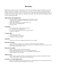 Resume Order Of Sections Resume Leadership Section Sugarflesh 8