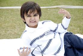 cute boy acting