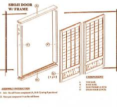 Japanese shoji doors Shoji Sliding Our Commitment To You Ctt Furniture Standard Shoji Screensdoors Informational Guide
