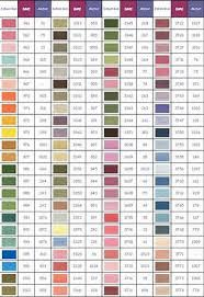 Valdani Color Chart Image Result For Thread Conversion Chart Valdani To Dmc