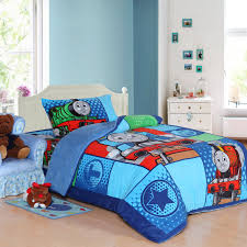 aliexpress com train thomas bedding set twin size kids cartoon toddler children bed sheet quilt duvet cover bedspread bedsheet single winter from