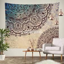 Henna Wall Designs Mandala Tapestry Mehendy Henna Ethno Mandala Wall Tapestries Bohemian Tapestry Indie Vintage Mandala Decor