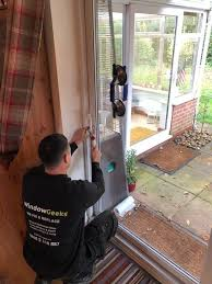 we replace or adjust misted up glass panels glazed units hinges handles sliding patio wheels and locking mechanisms common problems with french doors