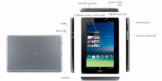 Acer Iconia A110 layout • GadgetyNews