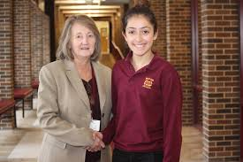 gabriella rossi among winners of vfw s voice of democracy essay catholic junior gabriella rossi was recently recognized for putting pen to paper and her voice to video and entering the voice of democracy