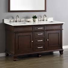 Bathroom : Countertop Basin Unit Long Vanity With One Sink Apron ...