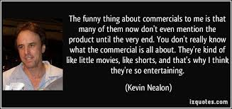 Commercial Quotes Custom Quotes About Funny Commercials On QuotesTopics