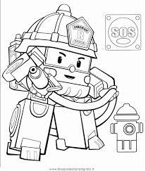 Personaggi Cartoni Animati Da Colorare Disegno Robocar Poli 20