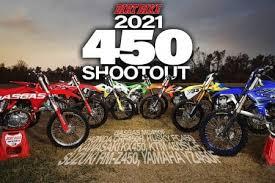 2021 450 motocross shootout dirt bike