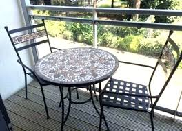 metal bistro set. Mosaic Bistro Table Set Medium Image For Metal Outdoor Garden