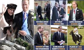 Duke And Duchess Of Cambridge Attend Wedding Together Surprising New Hillary Ruck Marriage