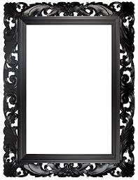 black picture frame. Contemporary Frame Black Carved Decorative Picture Frame Throughout