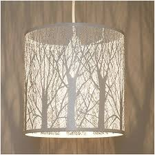 lampshade chandelier