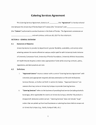 Food Service Contract Template Tinymcsmall Template