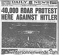 Image result for jews declare war on germany