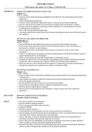 Financial Aid Assistant Sample Resume Financial Aid Assistant Resume Samples Velvet Jobs 2