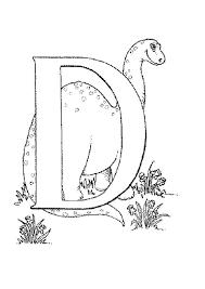 Letter D Coloring Pages - coloringsuite.com