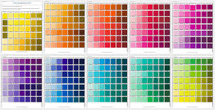 Free Pantone Color Chart Pdf Free Pantone Color Chart Clipart Images Gallery For Free