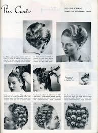 Pin Curl Hair Style so many pincurl setting patterns the curious raven 3364 by stevesalt.us