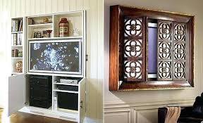 hide tv furniture. Hide Furniture Bedroom Hidden Finest Best Ideas About On Cabinet With Doors To Flat Screen Tv N