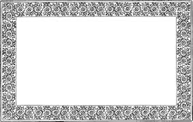 antique frame border png. This Vintage Border Frame Would Make A Lovely Graphic For Card Making, Digital Scrapbooking Or Hybrid Scrapbooking. Antique Png .