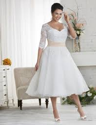 plus size retro wedding dresses. white plus size wedding dress - http://pluslook.eu/dresses/ retro dresses r