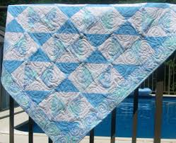 Scenic Blue Quilt Squares Triangles Red Together With Blue Quilt ... & Picture ... Adamdwight.com
