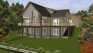 Small Picture Amazing Chic 15 Story House Plans With Walkout Basement Plan