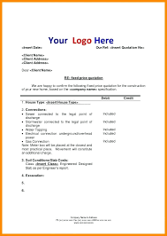 Construction Quote Template Electrical Excel Estimate Pr Cost ...