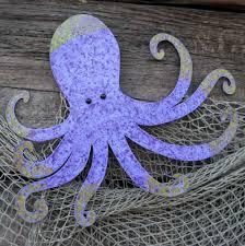 luxury octopus wall art hand crafted handmade upcycled metal sculpture by custom made hobby lobby wood target uk bathroom canada