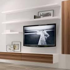 Floating Shelves For Entertainment Center 100 Floating Media Center Designs for ClutterFree Living Room 2