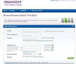 Resume Search Inspiration Search Resumes On Monster Stunning Sample Resume Objective 60