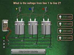 transformer banks 2 three phase connections course screen