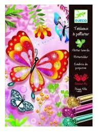 "DJ09503 <b>DJECO Раскраска</b> ""<b>Блестящие бабочки</b>"" | Рукоделия ..."