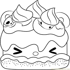 Colorful Smores Coloring Page Mold Coloring Pages Anime