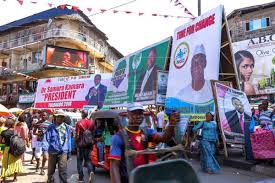 Image result for SIERRA LEONE ELECTION PICTURES