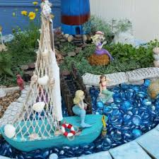 best gardening ideas mermaid and beach themed fairy garden 22