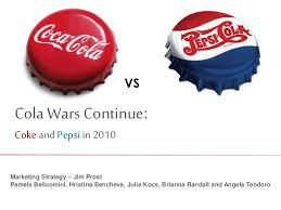 cola wars continue coke and pepsi