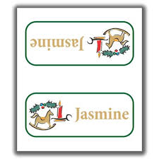 christmas placecard templates christmas place cards 3