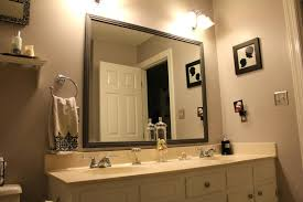 Framing A Large Mirror Bathroom Mirror Frames Canada Bathroom Mirror Frame Kit Show Home