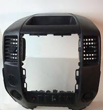 nissan armada car truck interior consoles parts 08 15 nissan titan armada vent grille center dash trim bezel oem 68257 zr00a