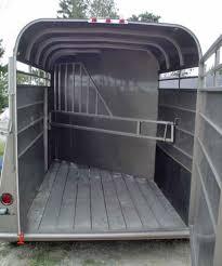calico stock horse trailers johnson trailer co 2 horse slant trailer
