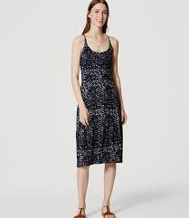 loft petite dresses. petite splashy flounce dress loft dresses